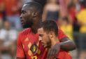 Belgian World Cup star Romelu Lukaku, here with Eden Hazard, has spoken movingly of identity politics