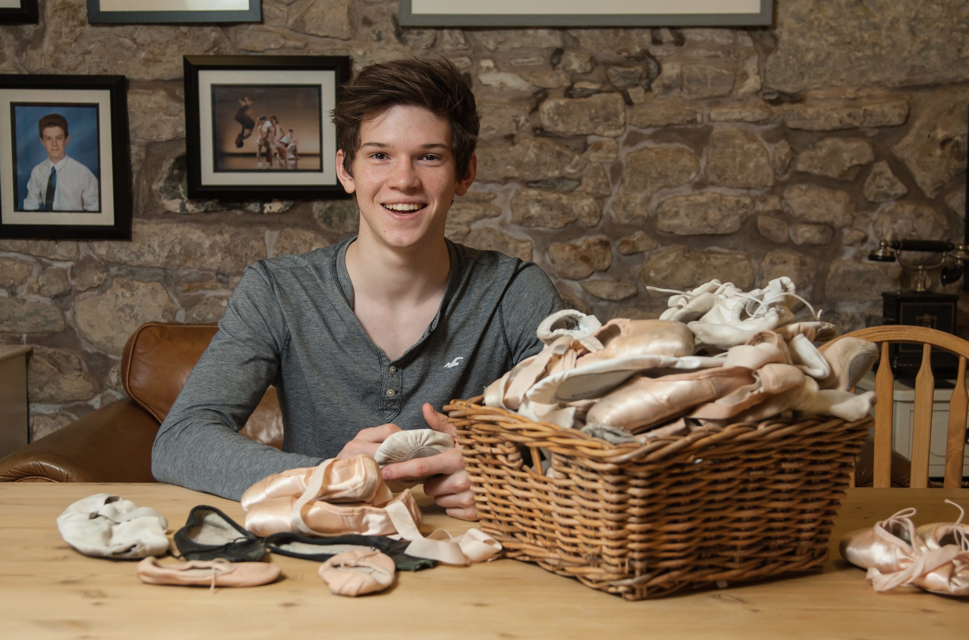 Harris Bell, 18, Perthshire ballet dancer studying at the Royal Ballet School, London.