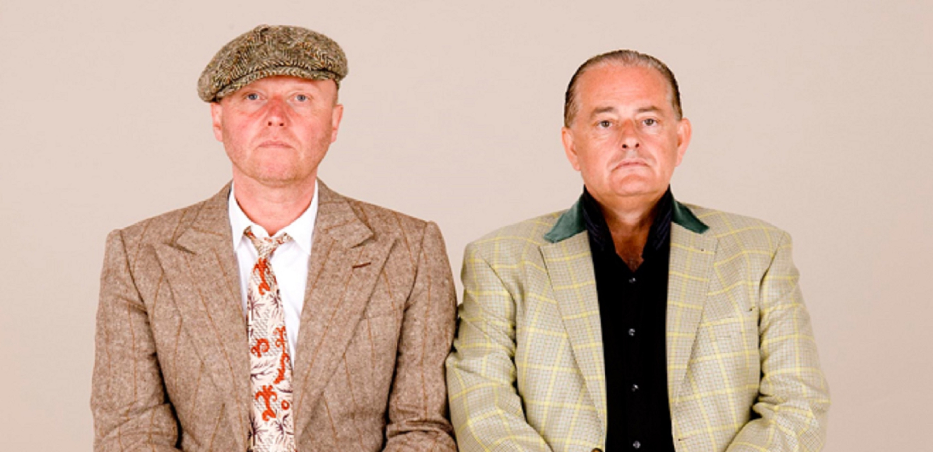 Heaven 17's Glenn Gregory, left, and Martyn Ware, right.