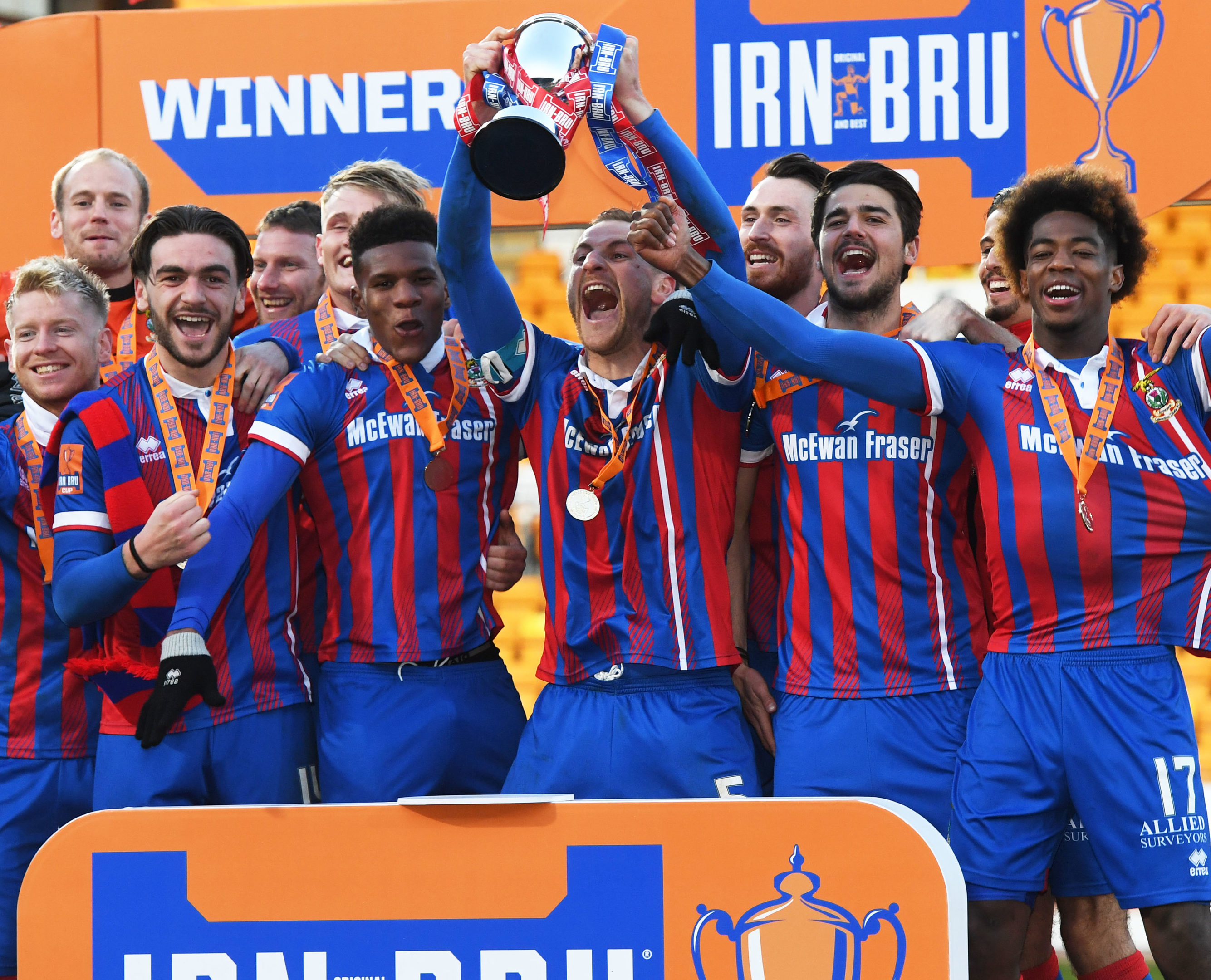 Inverness Caley Thistle won last season's competition.