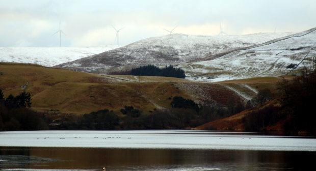 Castlehill Reservoir, Glendevon.