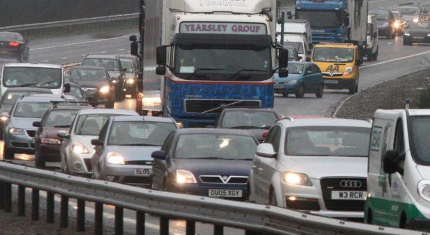 M90 traffic
