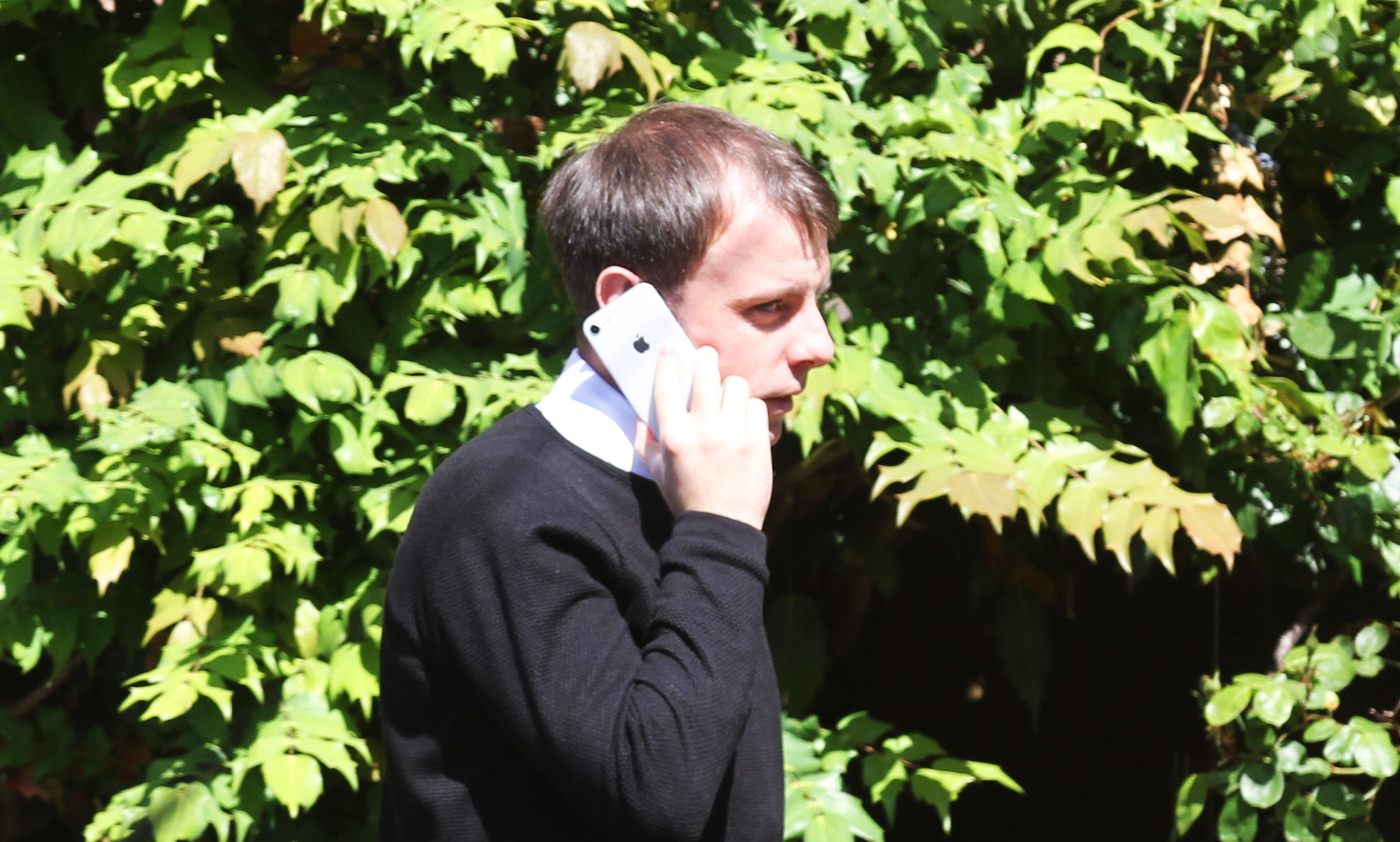 Paul McGowan at Dundee Sheriff Court today