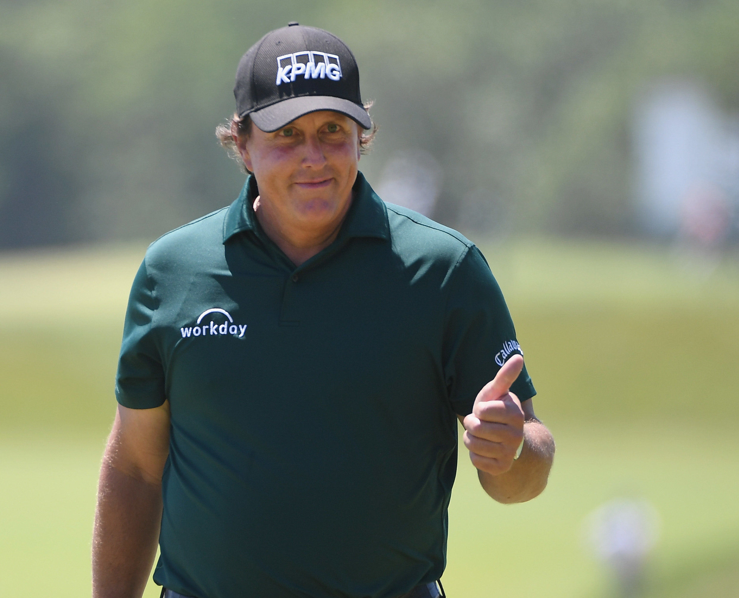 Phil Mickelson is keeping his own counsel ahead of the Scottish Open.