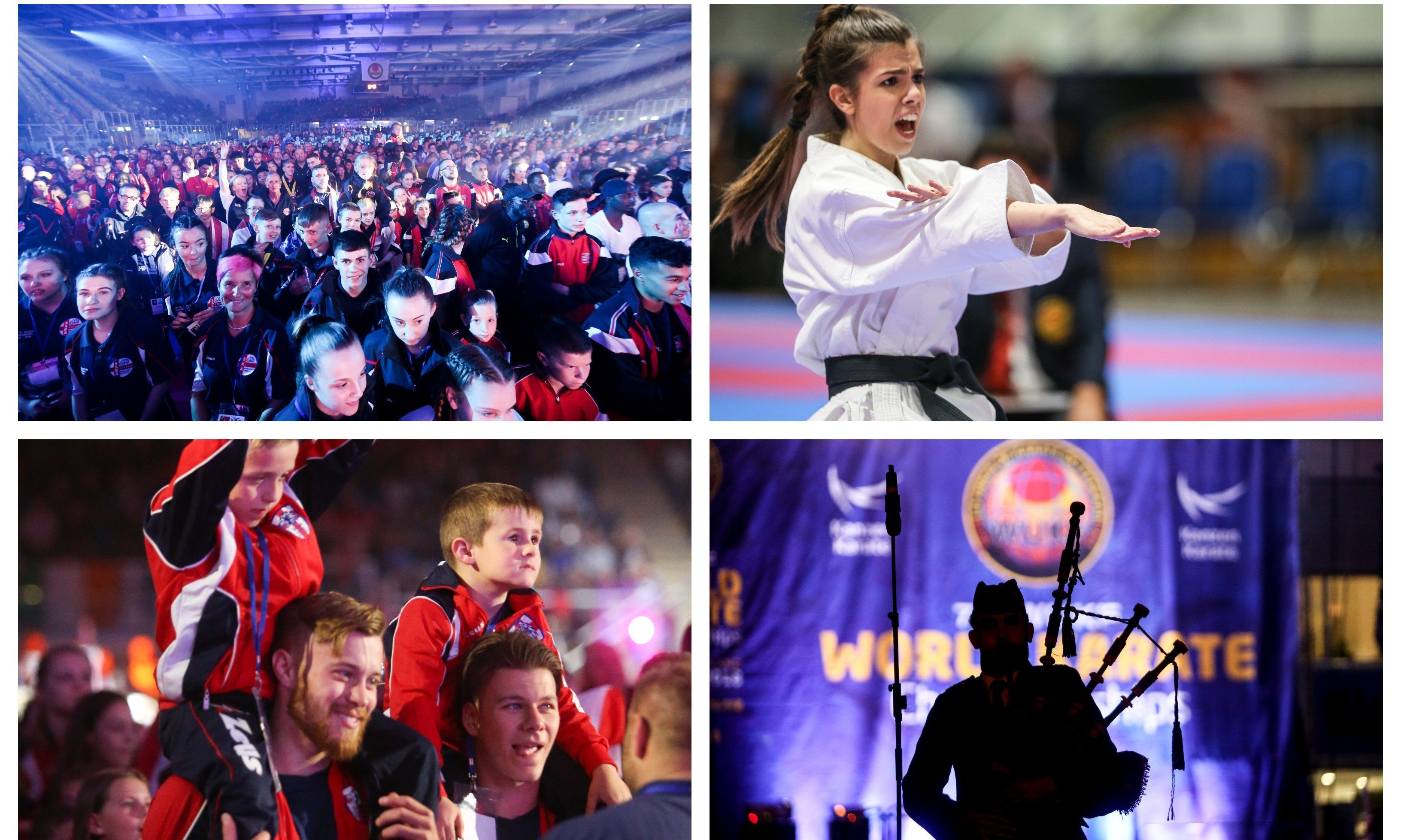 The official opening Ceremony of the 7th WUKF World Karate Championships