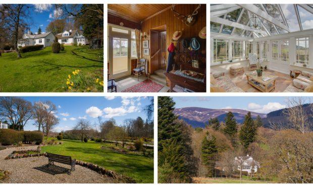Burnside Lodge in Glen Prosen