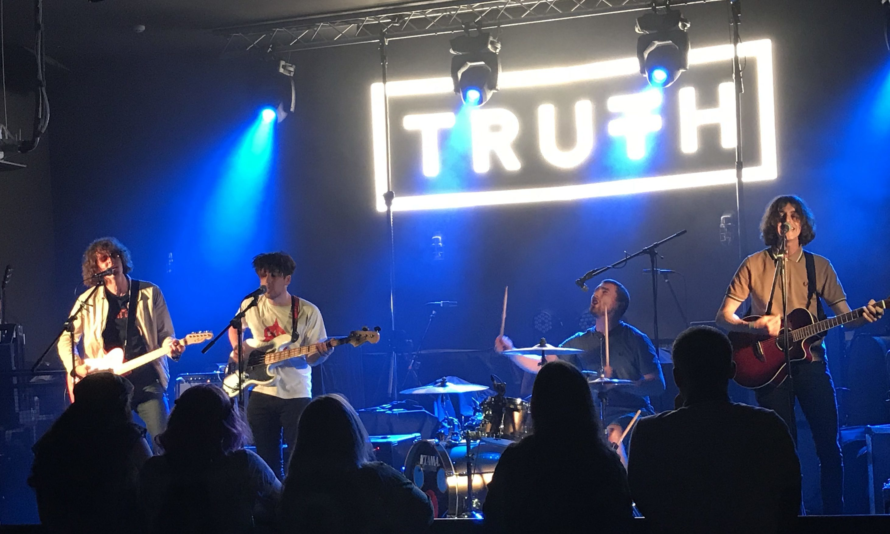Shambolics played Truth nightclub in Leven in May 2018