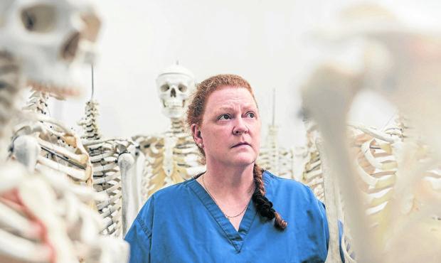 Dame Professor Sue Black.