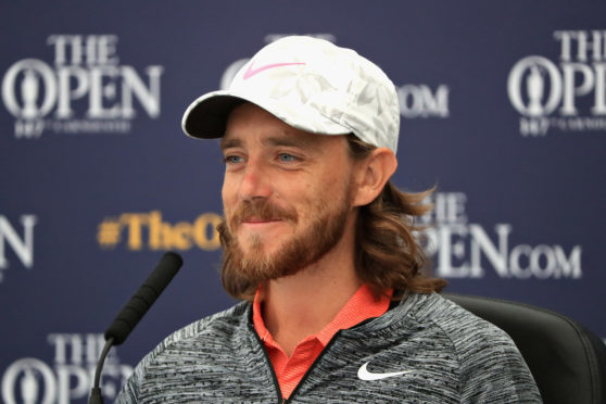 Tommy Fleetwood says his course record at Carnoustie means nothing in Open conditions.