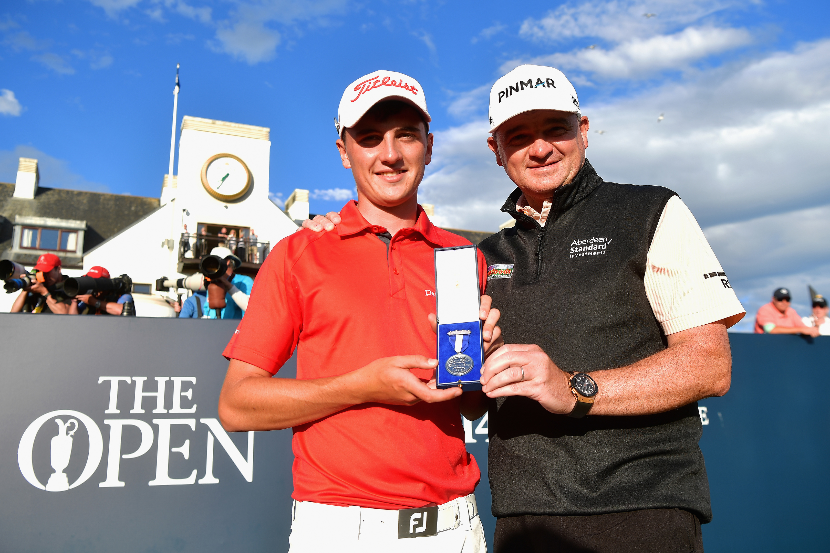 Sam Locke, mentored by 1999 Open champion Paul Lawrie, has turned professional.
