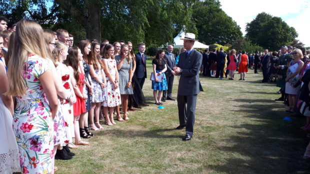 Prince Edward is a trustee of the Duke of Edinburgh Award scheme