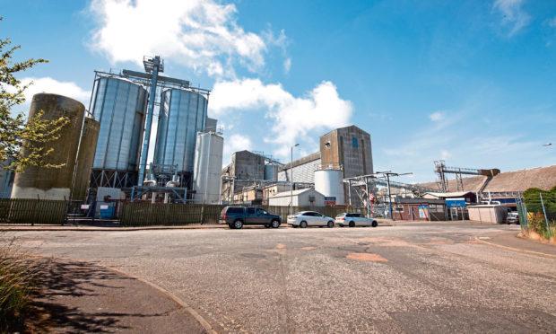 The Bairds Malt plant at Arbroath's Elliot Industrial estate