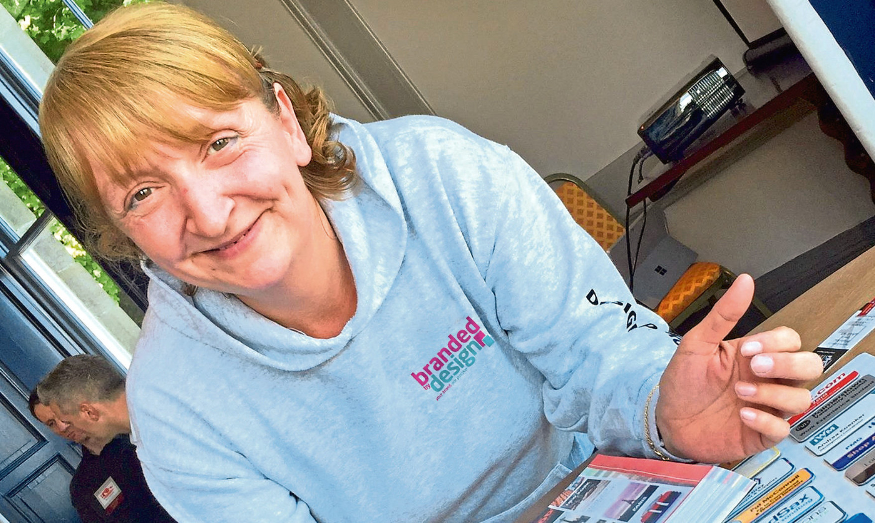 Amanda Little of Branded by Design of Dunfermline