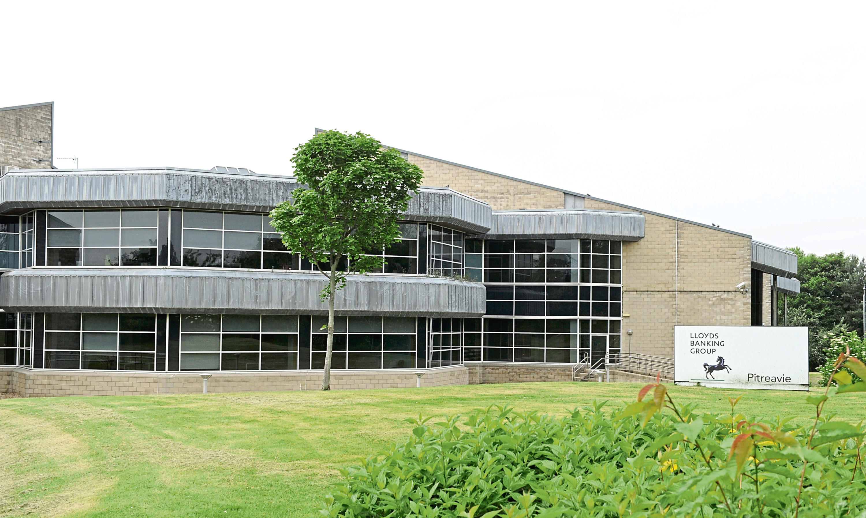 A number of banking groups have operations in Fife, including Lloyds which has a base at Pitreavie by Dunfermline.