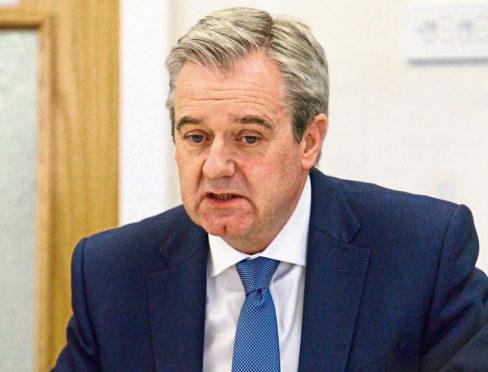 NHS Tayside chair John Brown.