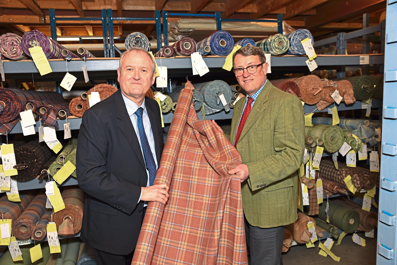 Chairman Blair Macnaughton and managing director James Dracup of Macnaughton Holdings.