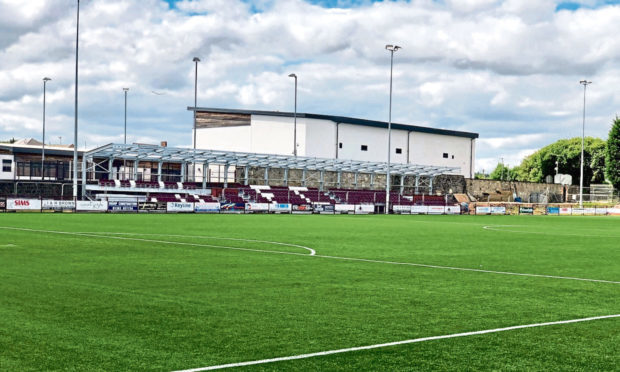 The Kelty Hearts grounds.