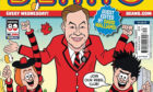 The front cover of the Beano which David Walliams will guest edit.