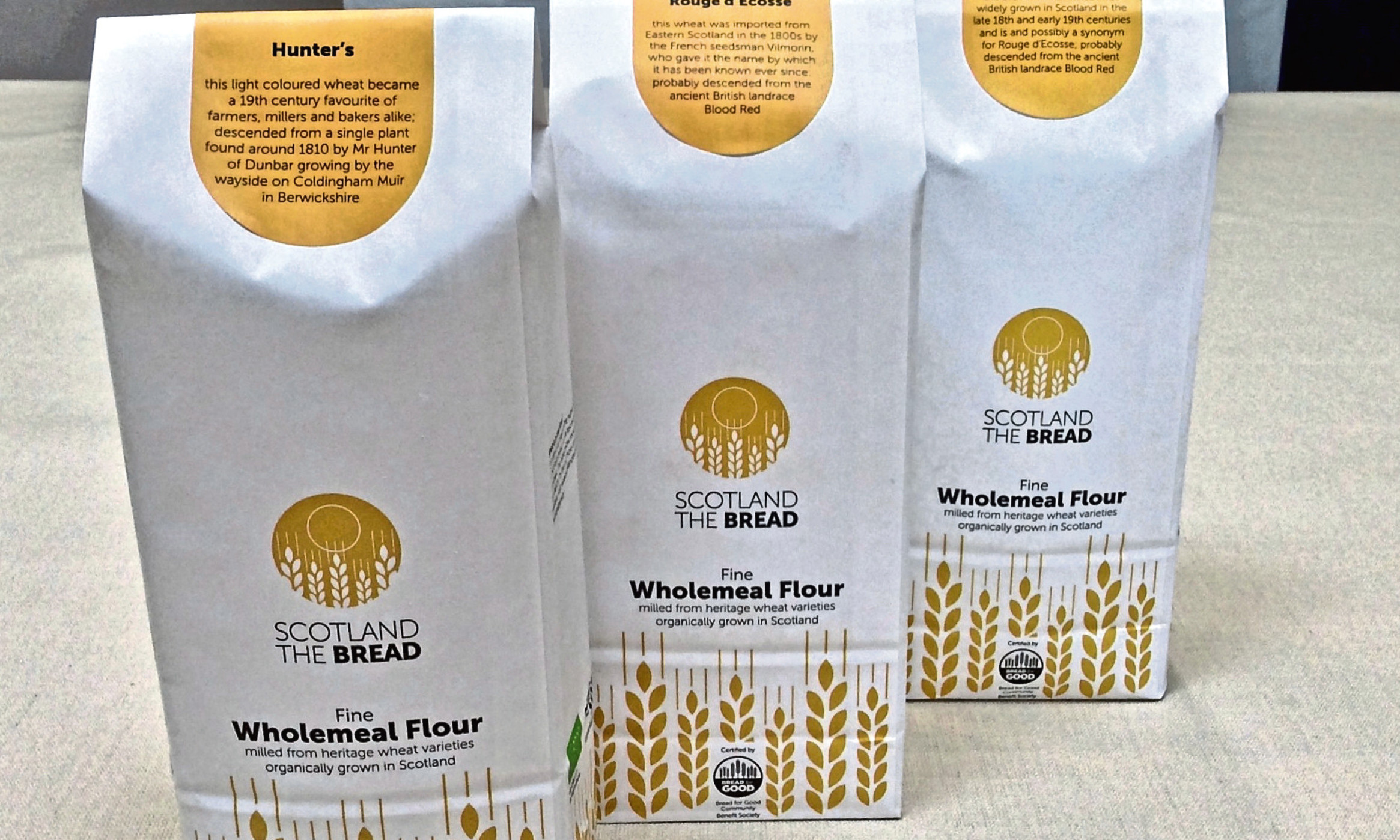 The mill will produce flour for sale as well as using it to produce bread in its bakery
