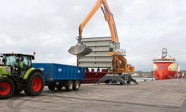 Rix Shipping's stevedoring activities at Montrose