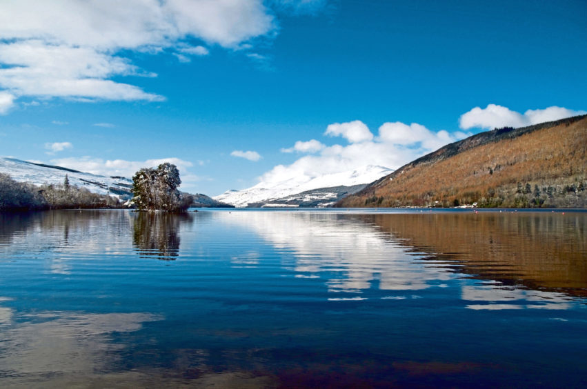 The countryside was looking nice this weekend at Loch Tay from the Kenmore end