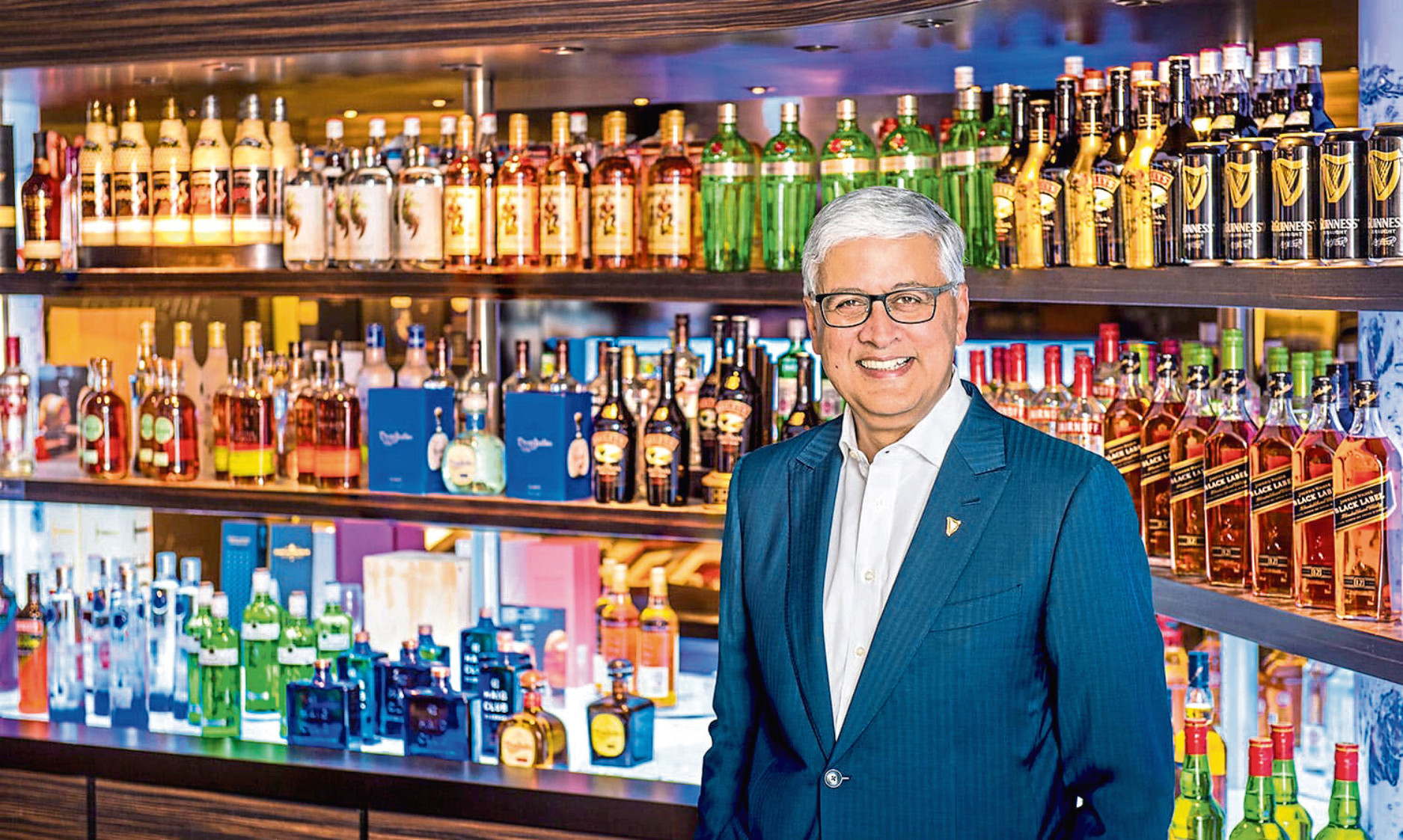 Diageo group chief executive Ivan Menezes
