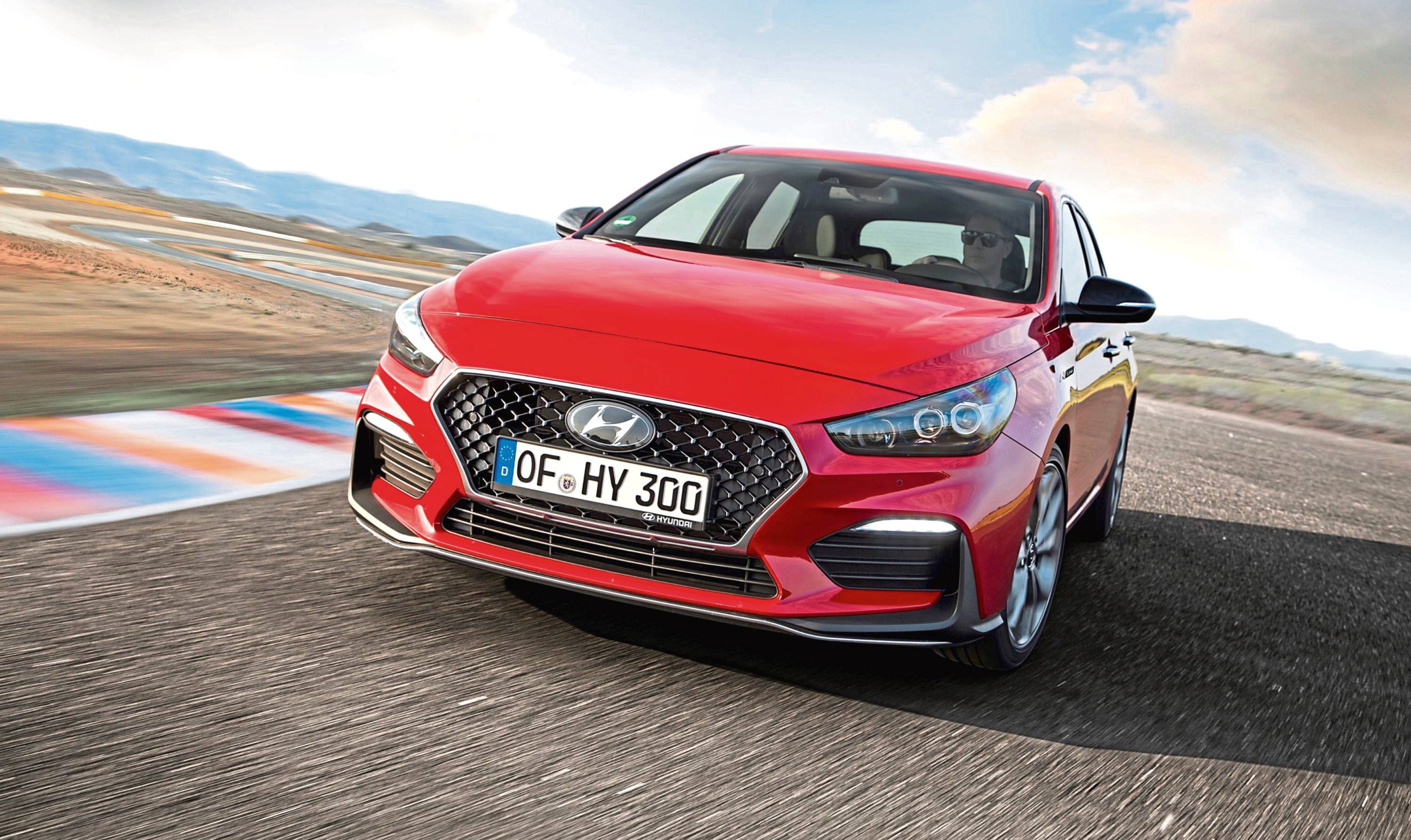 Undated handout photo of the new Hyundai i30 N Line.See PA Feature MOTORING News. Picture credit should read: Hyundai/PA. WARNING: This picture must only be used to accompany PA Feature MOTORING News.