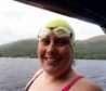 Aberfeldy resident Colleen Blair managed to swim the 25-mile Minch crossing in just under 19 hours
