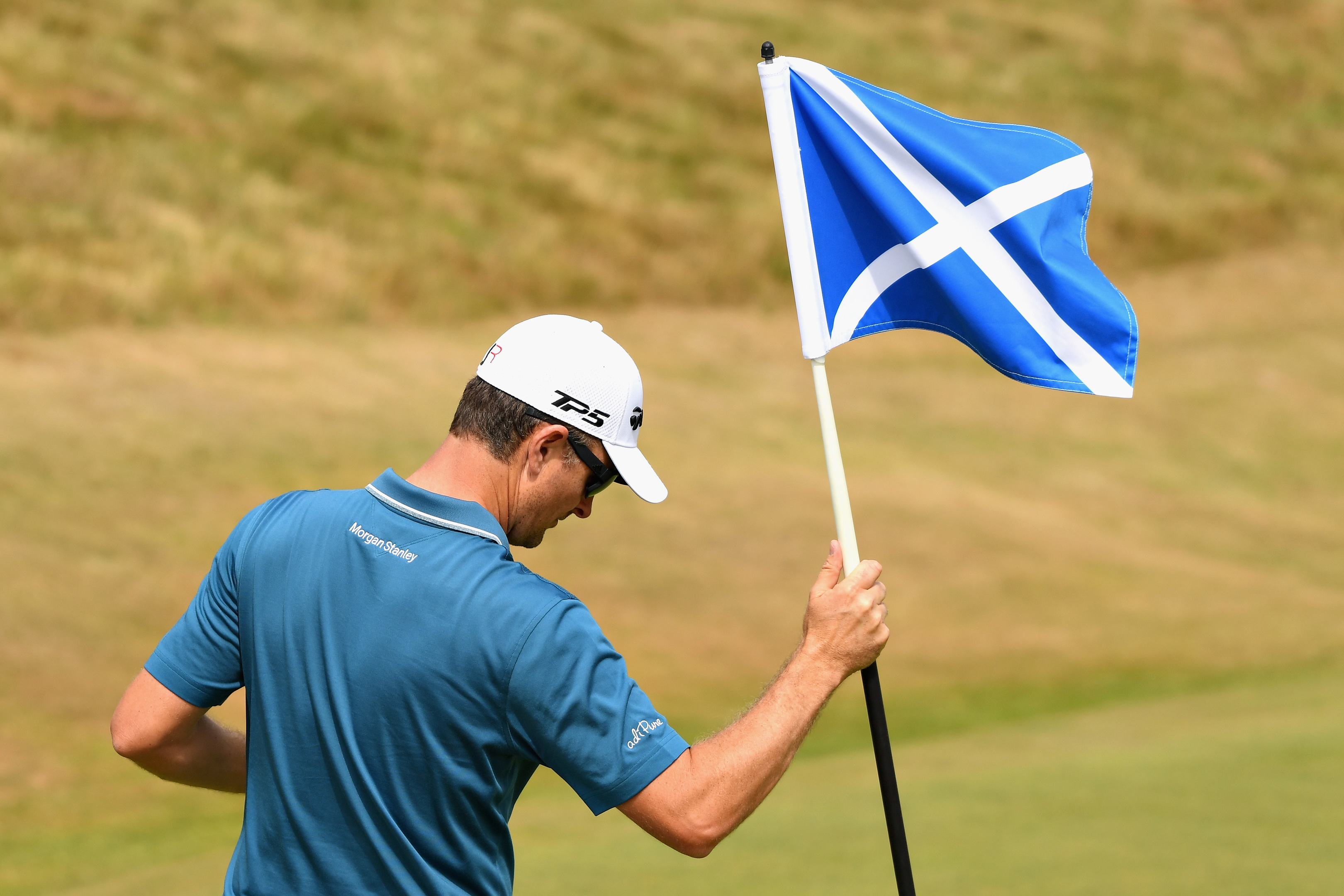 Justin Rose, one of the big-name players at this week's Scottish Open.