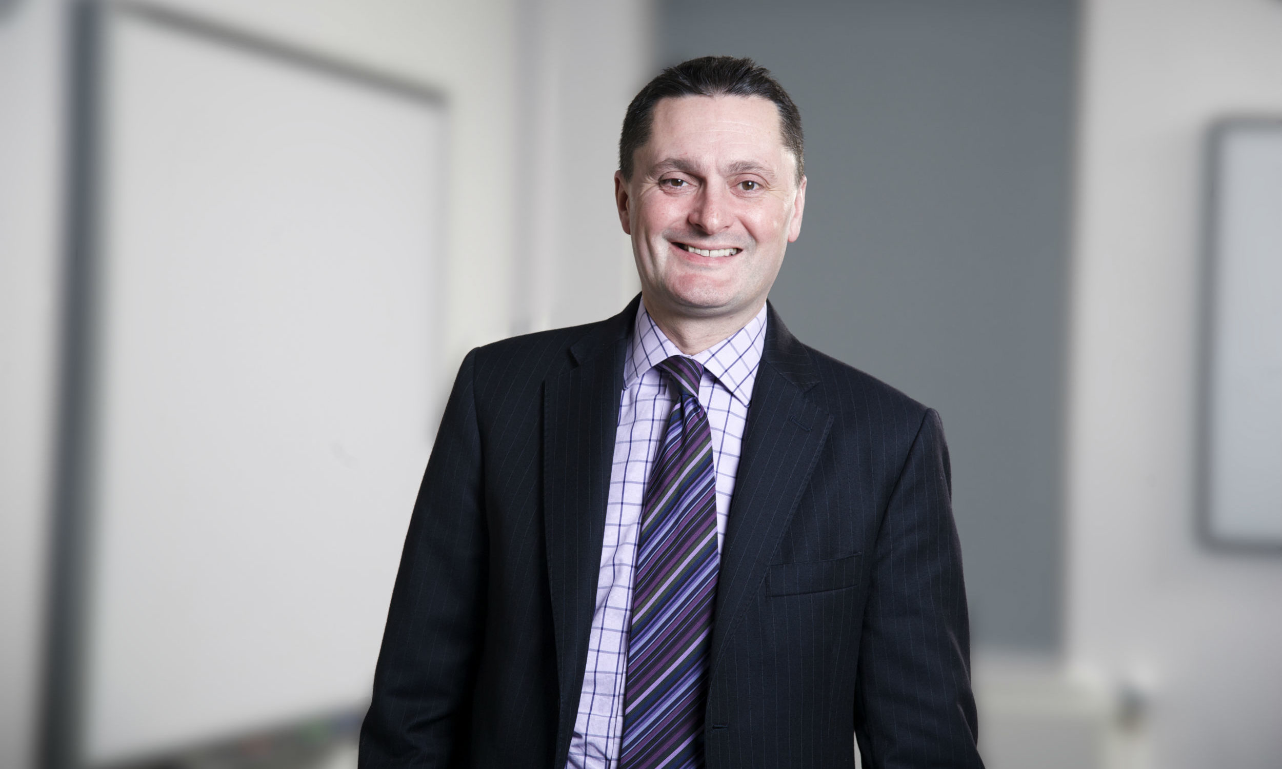 Former Dundee University principal Professor Andrew Atherton.