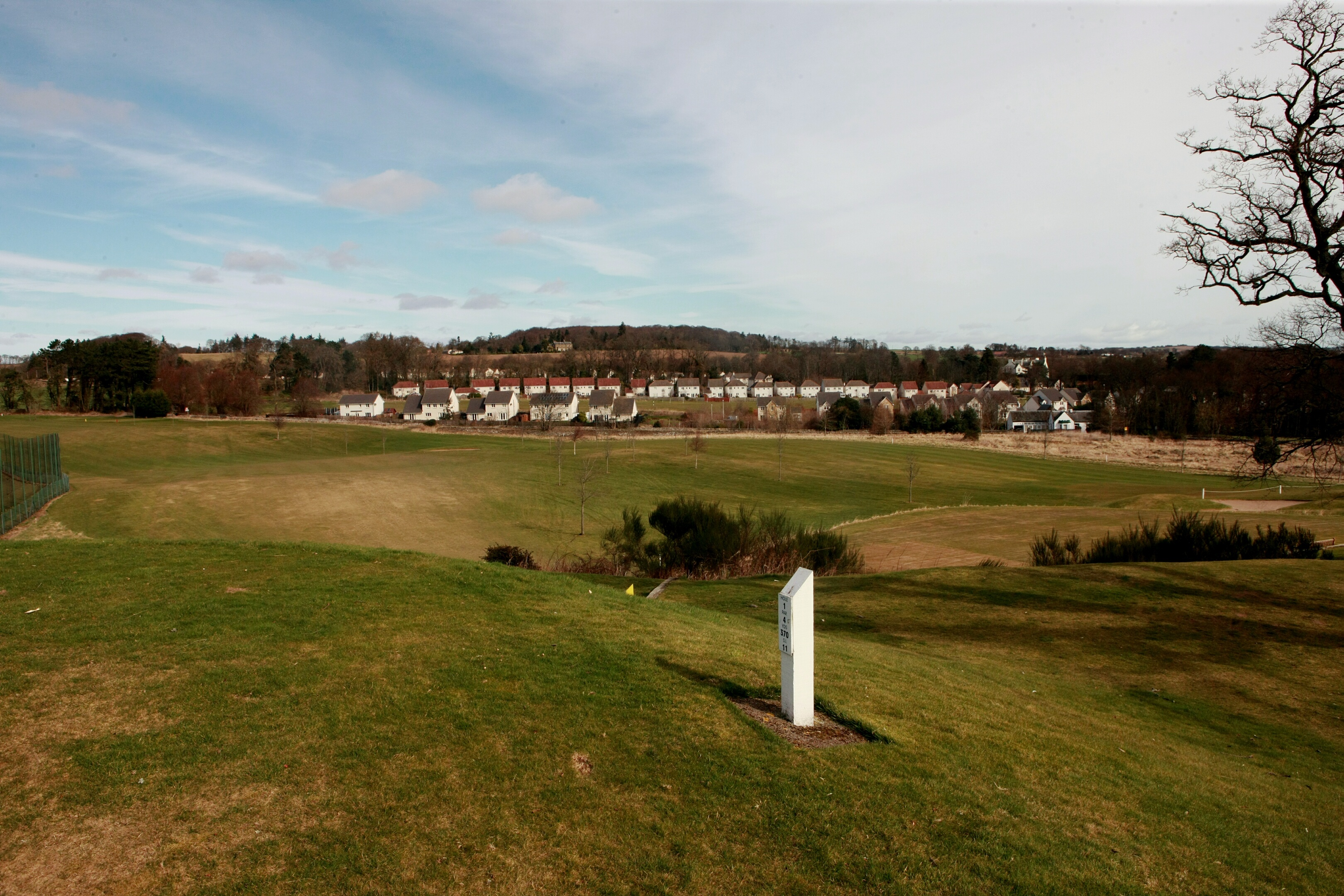 The homes would be built on the southern edge of Ballumbie Golf Course.
