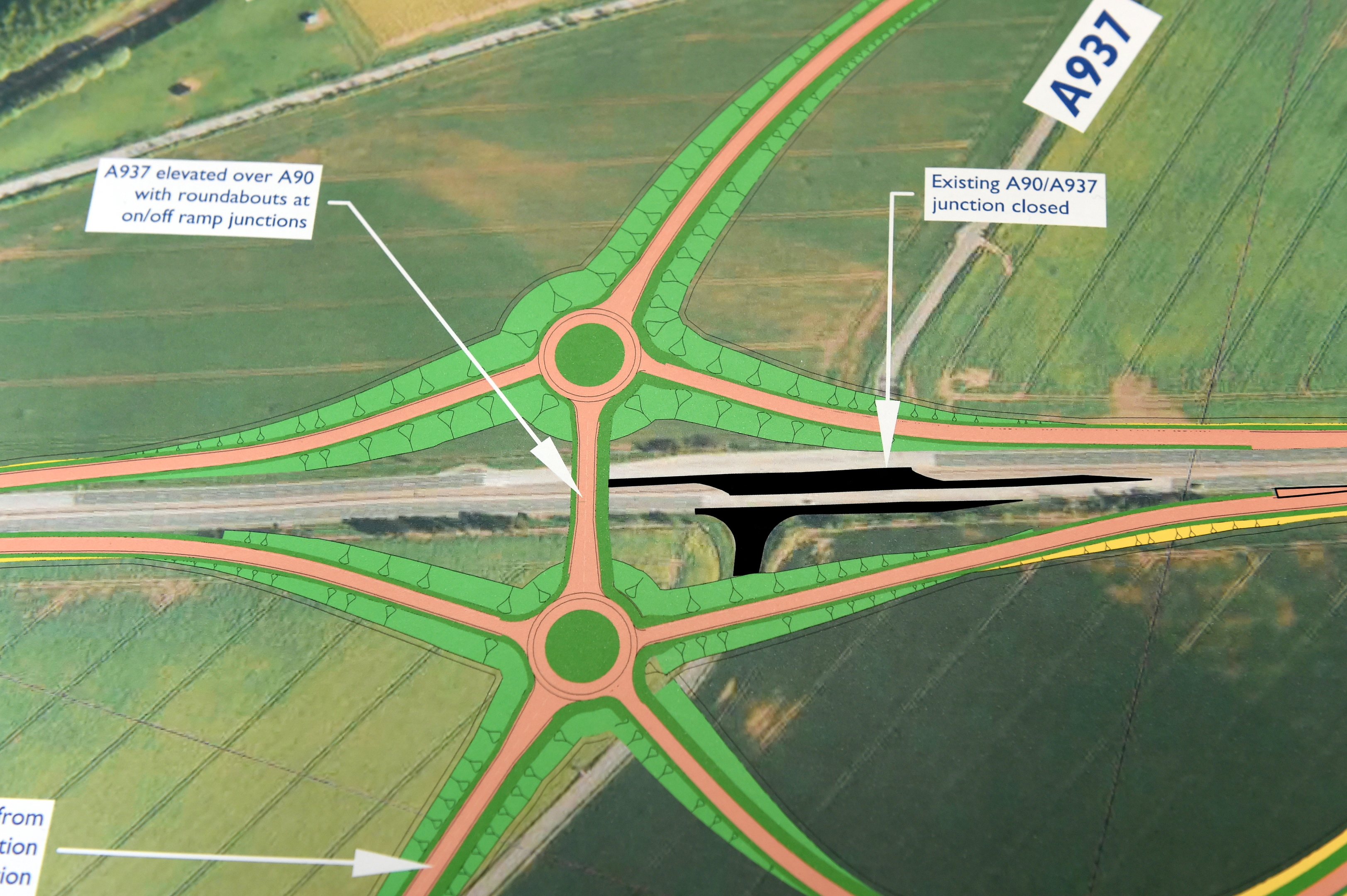 The £24 million preferred junction for Laurencekirk