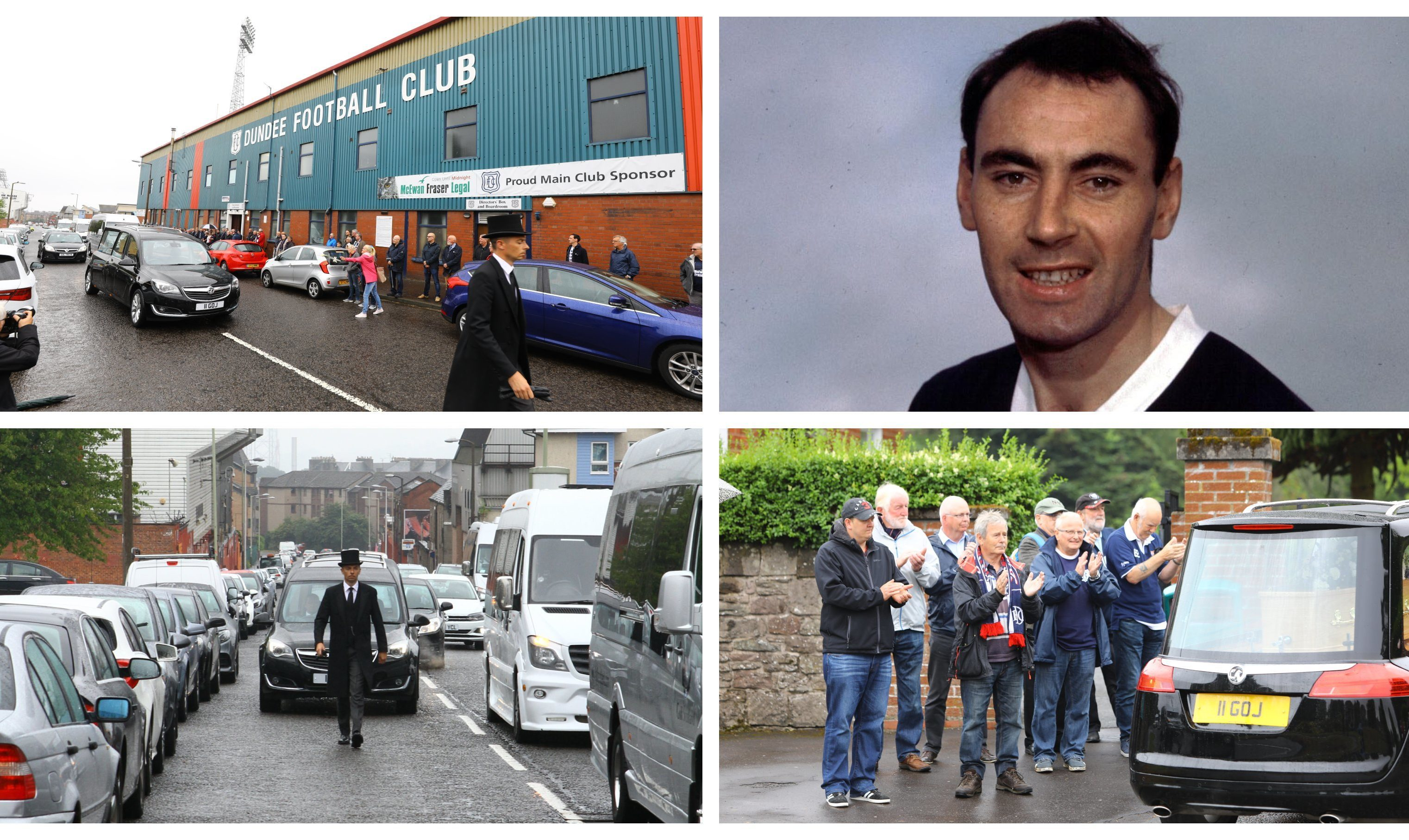 Alan Gilzean was laid to rest on Friday.