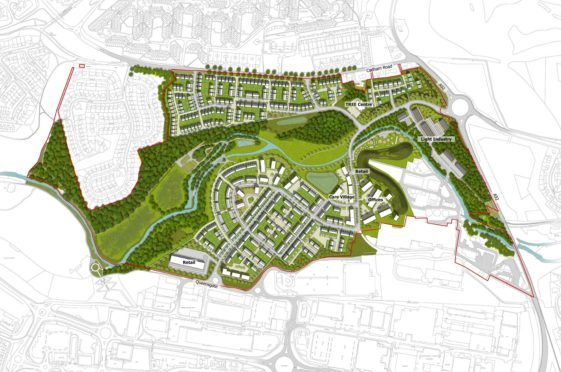 The masterplan for the area