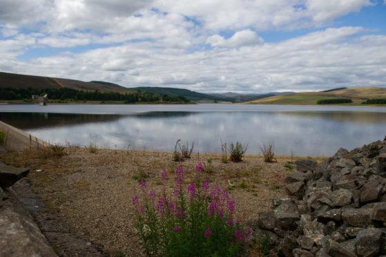 The Backwater Reservoir in Glen Isla.