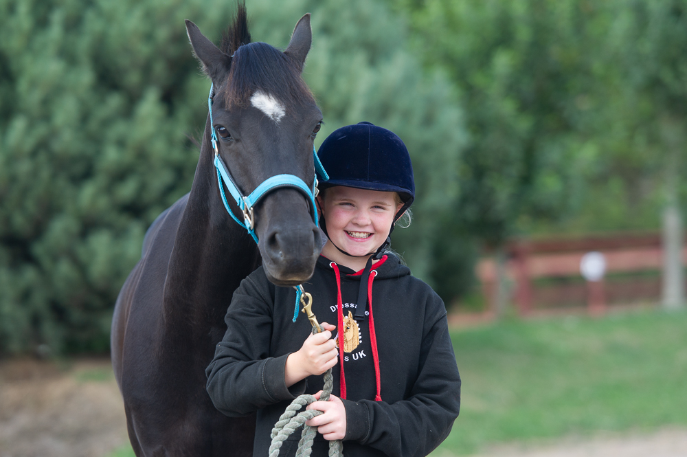 Charlotte Stork (11) was trampled by a horse at the Kirrie Show.