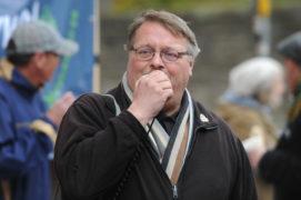 Mike Arnott, branch secretary of Dundee TUC.
