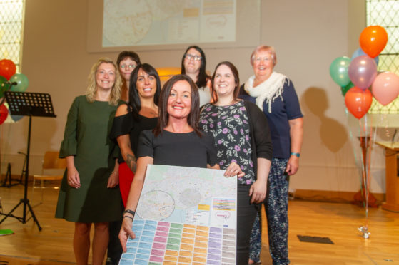 Angie Henderson, Ali Devlin, Kelly Paterson, Parish Nurse, Rachel McReady, Cheryl Ferguson, Parish Nurses - Kirsty Watt and Barbara MacFarlane.