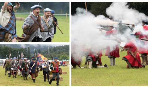 The Battle of Killiecrankie re-enactment 2018.