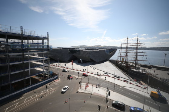 The £1 billion waterfront regeneration is half way to completion