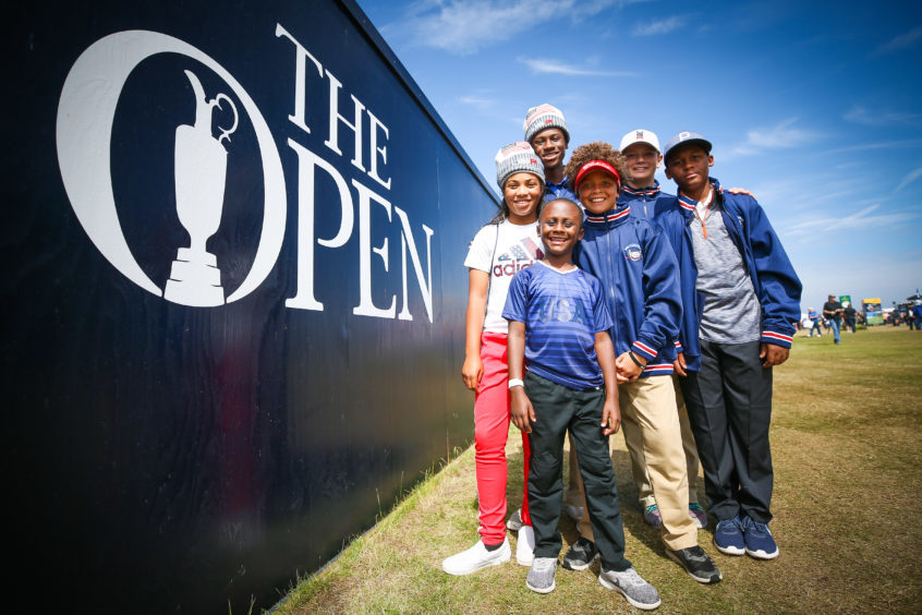 A group from Palm Beach Gardens, Florida to watch The Open and compete in the Junior Ryder Cup Challenge.