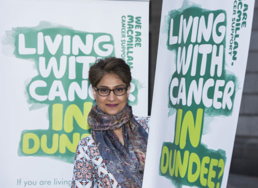 Rubina Zafa, from Cancer Voice, and a cancer survivor herself, launched the service in November last year