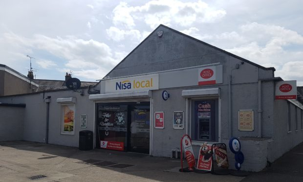 Armed thieves targeted the Leven branch on Saturday morning