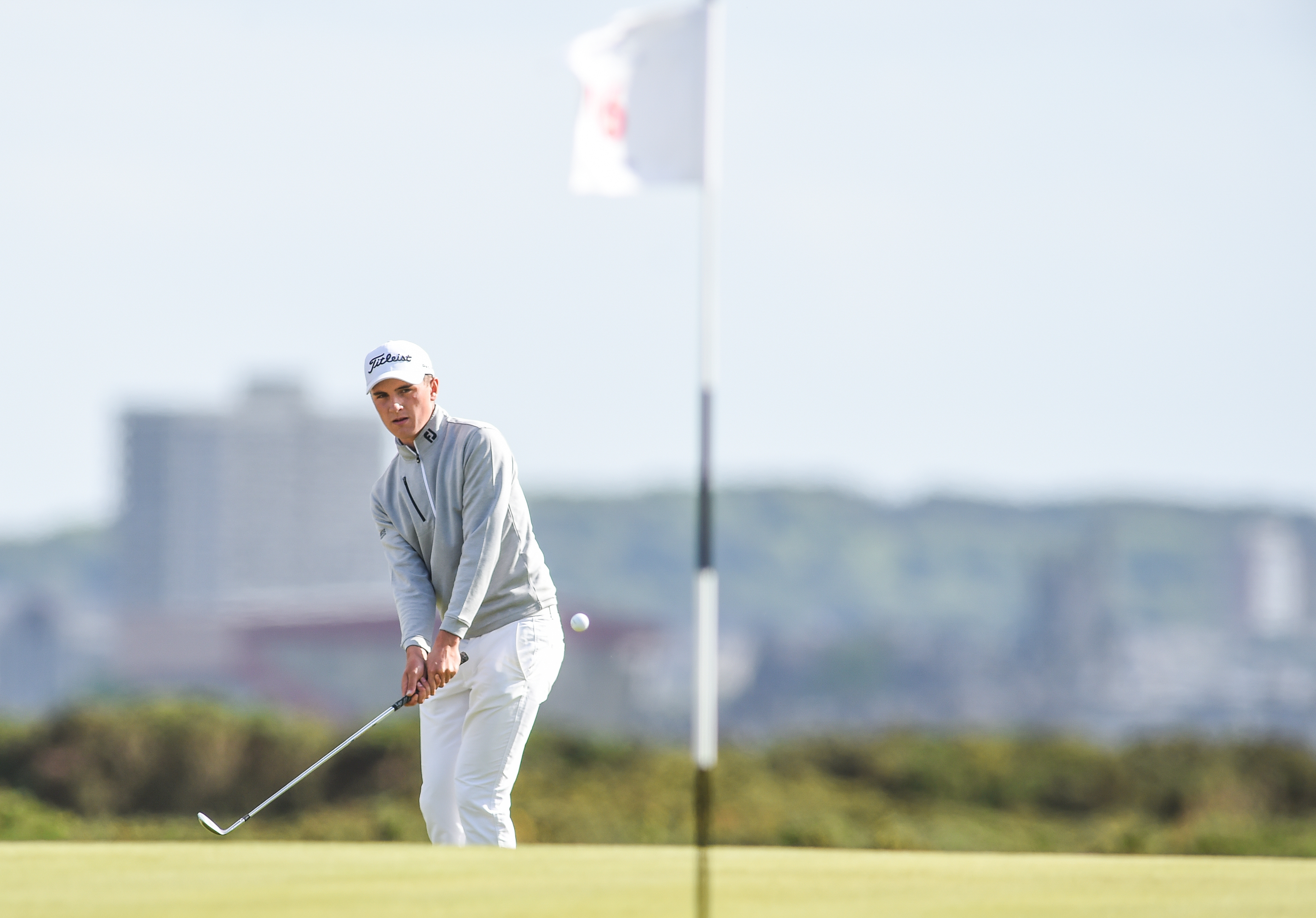 Sam Locke booked his place at the Open by winning the Final Qualifying event at The Renaissance Club.