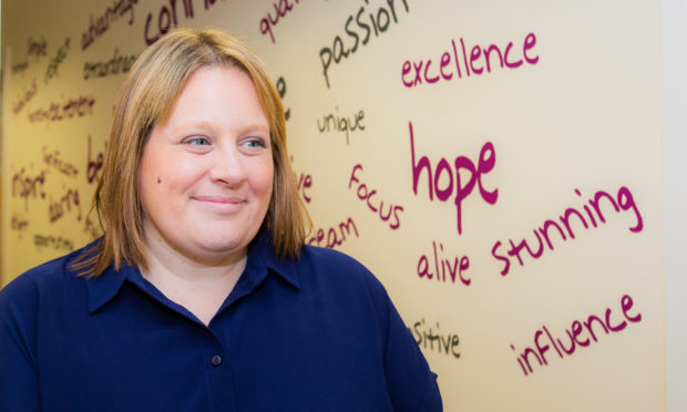 Angie Ferguson (Chief Executive) of Perth Autism Support.