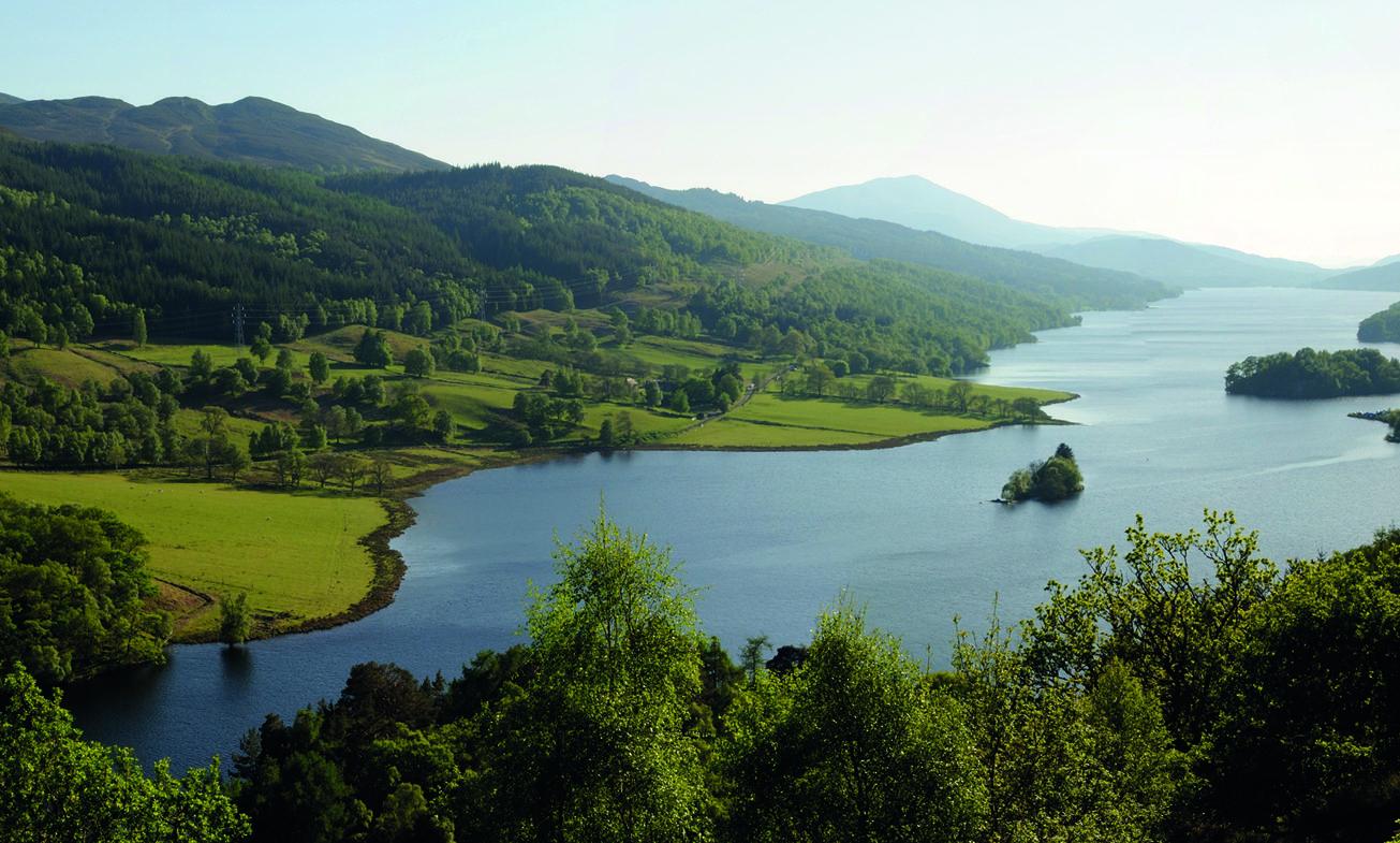 The Queen's View at Loch Tummel