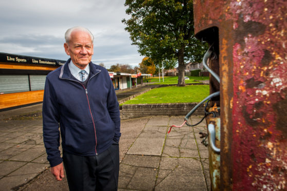 Ron Neave, chairman of Fintry Community Council.