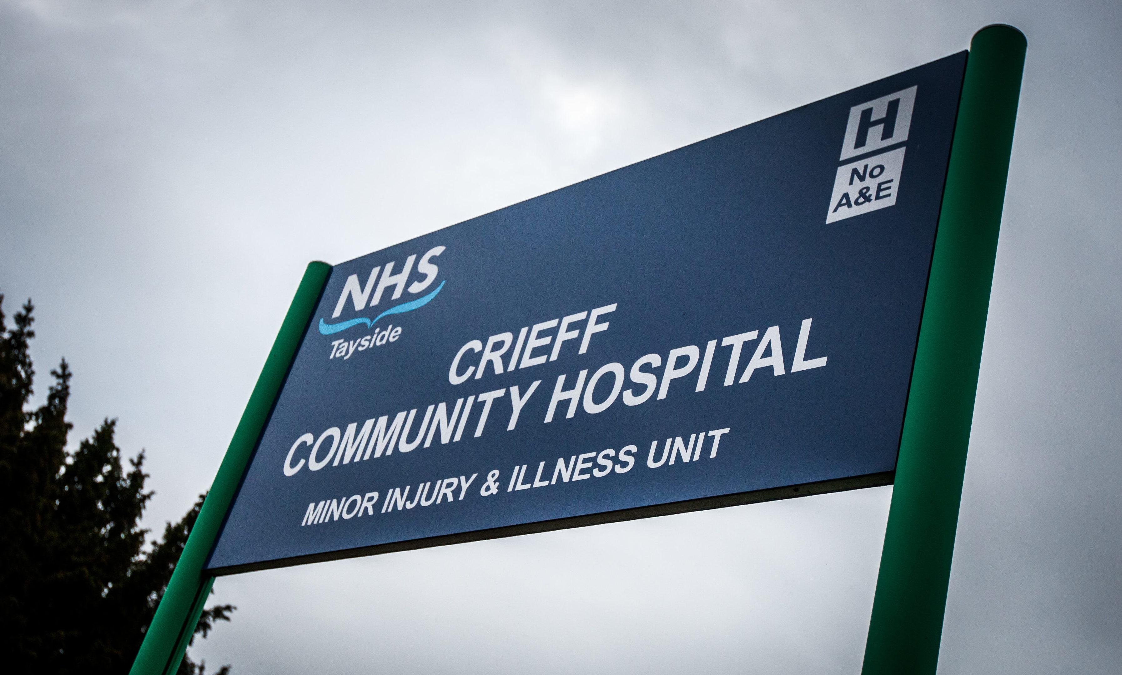 Crieff Community Hospital.