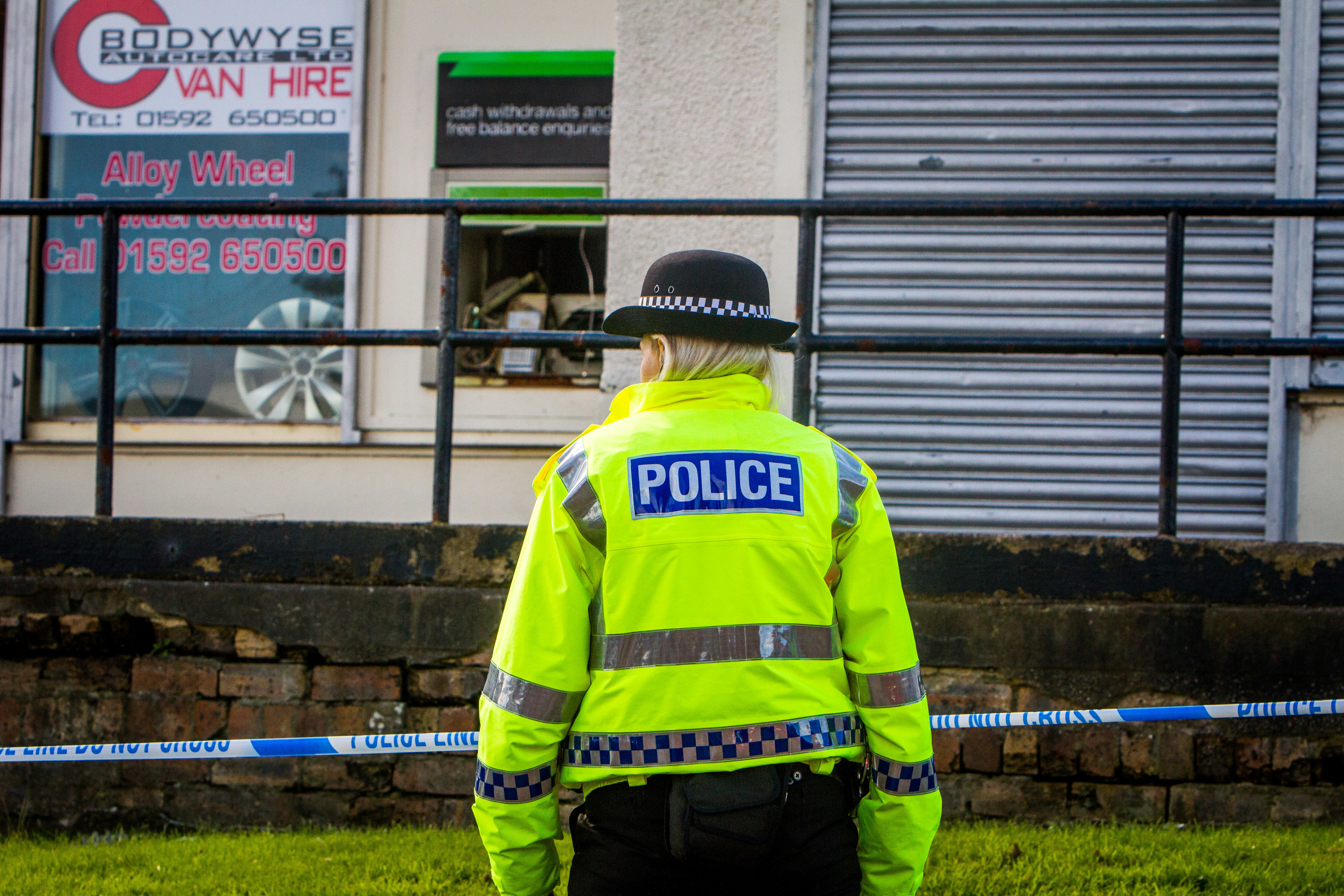 Police investigated the attempted robbery which took place in September 2017
