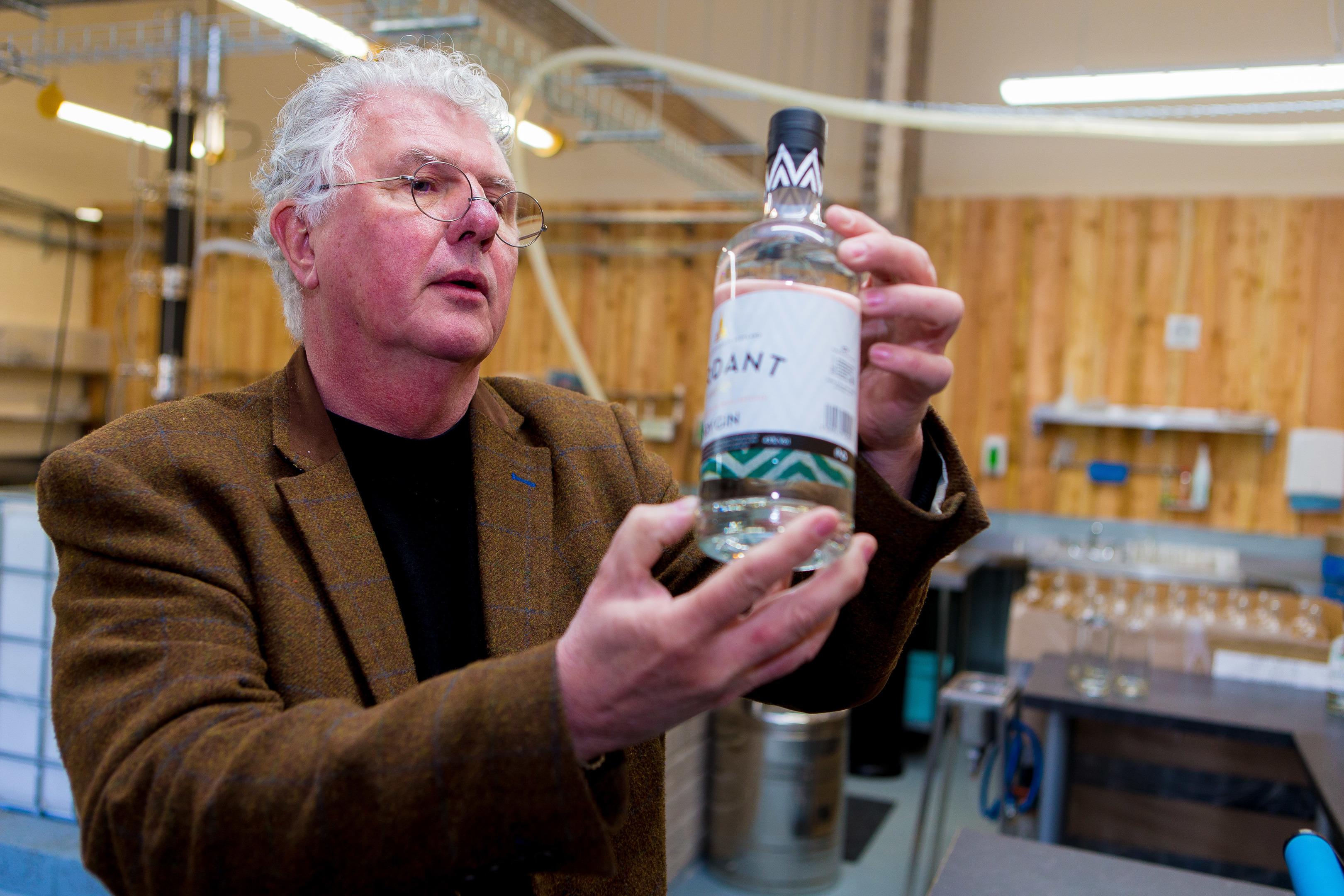 Verdant Spirits managing director Andrew Mackenzie.